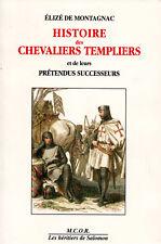 HISTOIRE DES CHEVALIERS TEMPLIERS.