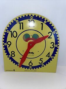 Vintage Original Judy Clock Large Judy Instructo Teaching Clock J209040