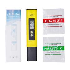 Medidor de PH TESTER DIGITAL LCD precision piscina pecera acuario cultivo