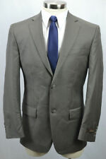 Two Button Solid Suits Regular 34 Waist for Men