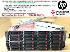 HP DL180 G6 2x L5520 4-Core 64GB Ram 36TB HP MSA60 36TB SAS Storage * 72TB 4U *