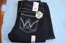 Women's Wrangler Pants Booty Up 7/8X32 Jaclson Jewels Low Rise Boot Cut
