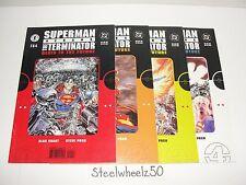 Superman Vs Terminator Death To Future #1-4 Comic Lot DC Dark Horse 1999 2 3 HTF