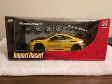 Jada Toyota Celica Yellow Import Racer Die cast Tuners 1/18 Racing Hart wheels