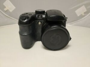 """GE X400 Digital Camera Black 14.1MP with 2.7"""" LCD 15X Zoom for PARTS or REPAIR"""
