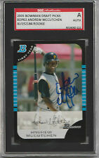 Andrew McCutchen 2005 Bowman signed auto autographed card SGC Certified