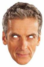 Peter Capaldi The 12th Doctor Dr Who Official Single Card Party Face Mask