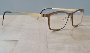Unisex New /Refurbished Lindberg Strip Titanium 9706 T410 Col GT Glasses Frames