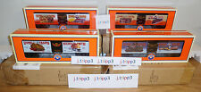 LIONEL NICHOLAS SMITH TRAIN STORE WOODSIDED REEFER 4-CAR SET O GAUGE 19580,2,3,4