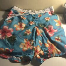 Funky Floral Ocean Pacific Swim Trunks Size XL