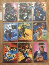 Set of 92 Fleer Ultra Spider-Man Collectors Cards from 1995