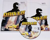 Driver: San Francisco (Nintendo Wii, 2011) Complete VG Tested