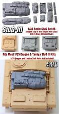 STUG arrimage set #5. S'adapte à toutes les 1/35 DRAGON & TAMIYA STUG III E/F/F8/G Kits etc