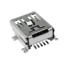 10Pcs Mini USB Type B Female 5-Pin SMT SMD Socket Jack Connector Port PCB Board