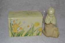 Vintage 80s Avon First Prayer Occur Cologne Glass Decanter Collectible Gift Box