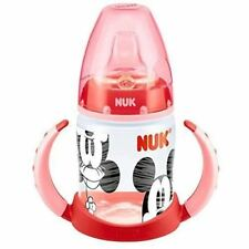 NUK Mickey & Minnie Red First Choice 150ml Learner Bottle 1 2 3 6 12 Packs