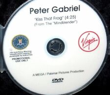 PETER GABRIEL KISS THAT FROG OFFICIAL Promotional Music Video DVD (NOT a CD)