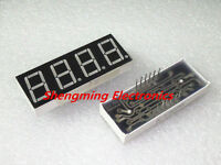 10PCS 0.56 inch 4 digit Red Led display 7 segment Common Anode