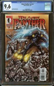 Black Panther v2 #4 CGC 9.6 1st White Wolf (Hunter)