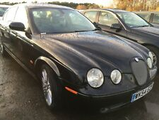 54 JAGUAR S-TYPE 2.7 D V6 SPORT STUNNING SPEC, LEATHER, COLOUR SAT NAV CLIMATE