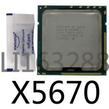 Intel Xeon X5670 SLBV7 Six Core 2.93GHz 12MB 6.4GT/s LGA1366 CPU Processor