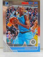 Gorgui Dieng 2019-20 NBA Hoops Premium Stock Chrome Base Card #112 Grizzlies