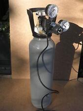 Impianto anidride  carbonica co2 acquario riduttore e bombola.