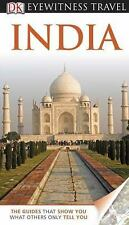 DK Eyewitness Travel Guide: India, DK Publishing, Good Condition, Book