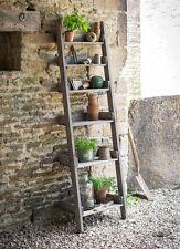 Garden Trading Aldsworth Shelf Ladder Rustic Outdoor Indoor Wall Storage Unit
