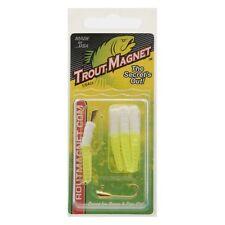 Leland Trout Magnet White/Chartreuse 8pc LELATMWC