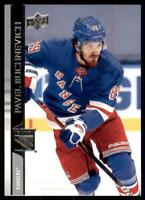 2020-21 UD Series 2 Base #372 Pavel Buchnevich - New York Rangers