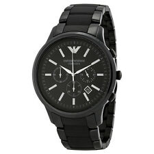 Armani Black Ceramic Mens Watch AR1451-AU