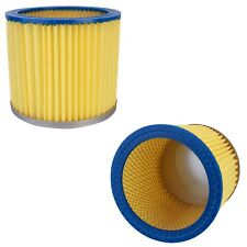 2 Wet & Dry Vacuum Hoover Filter Cartridge For Lidl Parkside PNTS1400/A1 1500/A1