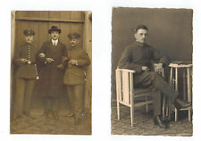 Military Men in Uniforms unknown to me - Early 20th Century