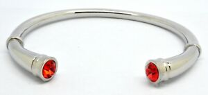 RED CREMATION URN COLOUR CUFF BRACELET MEMORIAL ASHES KEEPSAKE BANGLE RED