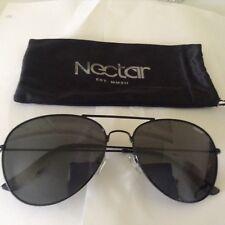 eae14ea6bdae nectar dante unisex sunglasses black polarized pilot metal frame