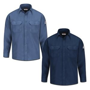 Bulwark Flame Resistant Shirts Nomex 4.5 oz. Lightweight Button Front Uniform