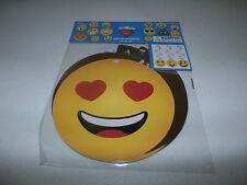 Emoji Birthday Party Decorations Smile Face 3 Hanging Swirls Spirals Wall Decor