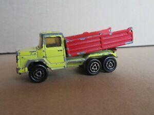 621Q 1978'S Majorette No 252 France Magirus Deutz Truck Benne Career 1:100