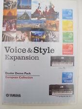 Yamaha PSR S650  PSR A2000 Voice&Style Expansion