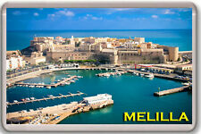MELILLA SPAIN FRIDGE MAGNET SOUVENIR IMAN NEVERA
