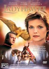 Ladyhawke - Michelle Pfeiffer, Matthew Broderick, Rutger Hauer DVD R4 as NEW
