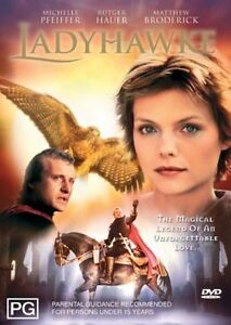 Lady Hawke DVD Rutger Hauer Movie Fantasy Cult Film 1985 LadyHawke - AUSTRALIAN