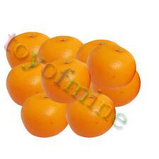10 pcs orange artificielle Large - plastique décorative fruits oranges Faux