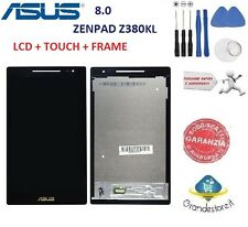 LCD DISPLAY Asus ZenPad 8.0  Z380  Z380KL Z380C TOUCH SCREEN SCHERMO NERO NUOVO