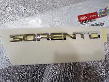Genuine Kia Sorento 2014-2017 Tailgate Emblem - 86310C5010