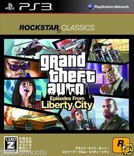 Used PS3 Grand Theft Auto Liberty city  SONY PLAYSTATION 3 JAPAN JAPANESE IMPORT