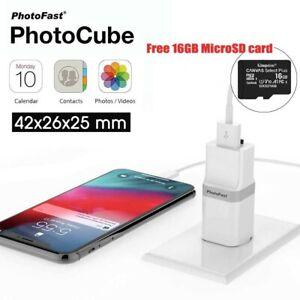 USB 3.1 Smart Backup Charge For Apple Devices PhotoFast PhotoCube FREE 16GB AU
