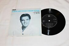 Elvis Import EP with Original Cover-LOVE LETTERS FROM ELVIS