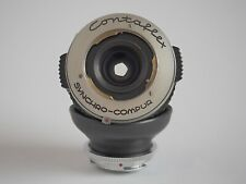 Makro-Eigenbauadapter für Contaflex Super an Sony E (Nikon Z) mit Tessar 2,8/50